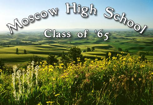 Moscow High School Class of 1965, Class Reunion committee features the photograph - Wildfowers On Paradise Ridge in Moscow Idaho
