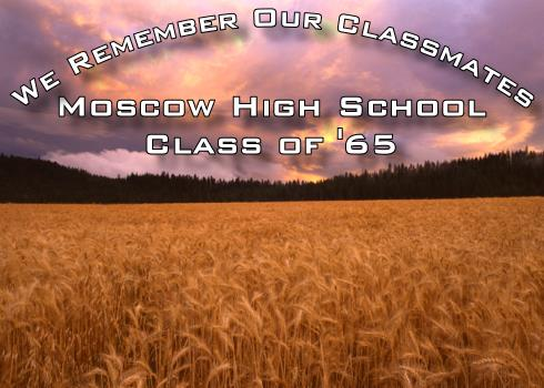 We Remember Our Classmates - Moscow High School Class of 1965
